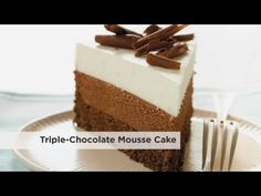 America's Test Kitchen S10E01 Triple Chocolate Mousse Cake - YouTube