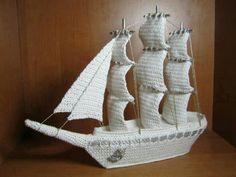 pirate ship #crochet