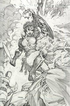 Metal 001 Wonder Woman alt cover by Jim Lee Comic Book Pages, Comic Book Artists, Comic Artist, Comic Books Art, Dc Comics Art, Comics Girls, Comic Book Drawing, Jim Lee Art, Female Art