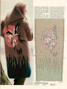 "Photo from album ""Интарсия"" on Yandex. Intarsia Knitting, Knitting Charts, Knitting Patterns, Knitting Designs, Diy Fashion, Mittens, Knit Crochet, Projects To Try, Winter Hats"