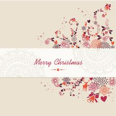 Lacy Christmas Theme Card Background - http://www.welovesolo.com/lacy-christmas-theme-card-background/