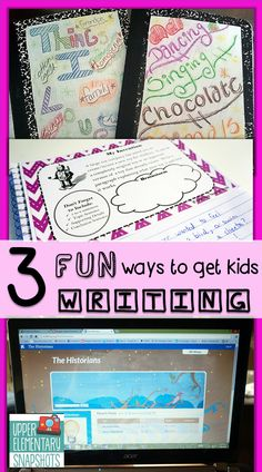 Get your students WRITING more!  3 teacher tested ways to get your students writing....and loving it!