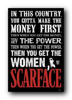 Home / Movie Posters / Scarface Poster