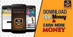 Download #AppMoney & Earn More Money. #AppMoneyOffers #ReferAppMoney Download & Install Here: http://bit.ly/1C8FPEc