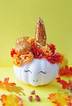 pumpkin unicorn diy