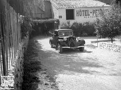 1938. Traction-avant Citroën. France,