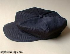 Casquette--tutorial with pattern