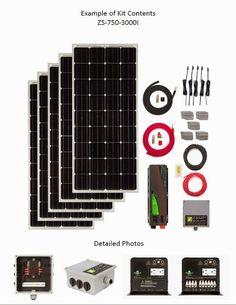 Zamp Solar Solar Off Grid Contents
