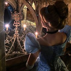 """A quiet evening in the castle. #Cinderella #CinderellaCastle #CinderellasRoyalTable #DisneySideCast"""