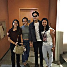 This is the handsome Daniel Padilla and the pretty Kathryn Bernardo smiling for the camera while meeting some friends and fans and malling at Rockwell Mall in Makati City. Indeed, KathNiel is my favourite Kapamilya love team. #KathrynBernardo #TeenQueen #DanielPadilla #KathNiel #KathNielBernaDilla #KathNielinRockwellMall