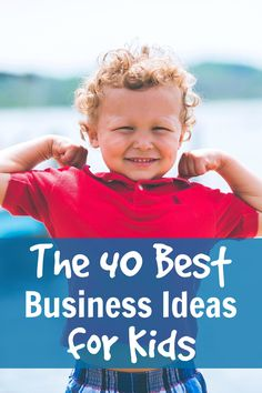 Some fun ways for your kids to earn their own money, including a few I'd never thought of before! The 40 best business ideas for kids, via @sidehustlenation