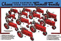 Farmall Tractors International Harvester IH