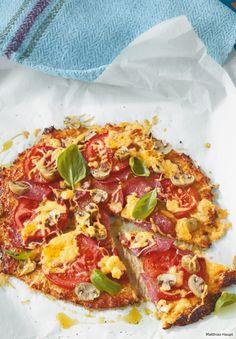 Blumenkohl-Pizza Rezept - ESSEN & TRINKEN
