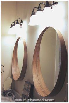 15 Modern Bathroom Mirror Ideas For Your Contemporary Home 2018 Wc ideas Badkamer spiegel Vessel sink bathroom Gäste wc Badezimmer waschtisch Waschtisch diy Small Bathroom Mirrors, Bathroom Mirror Design, Modern Bathroom, Framed Mirrors, Ikea Mirror, Custom Mirrors, Ikea Bathroom, Funky Mirrors, Bathroom Ideas