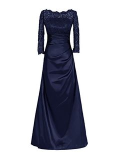 Diyouth Long Lace Flower Mother of the Bride Dress with Sleeves Navy Size 8 Diyouth http://www.amazon.com/dp/B00TX9GRWY/ref=cm_sw_r_pi_dp_3ND3vb012Y1A2