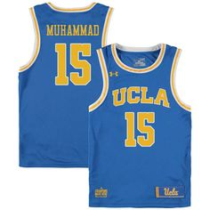 Men  15 Shabazz Muhammad UCLA Bruins College Basketball Jerseys Sale-Blue Basketball  Jersey 5a2130577