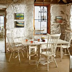Our Favorite Coastal Looks of 2012 | Romanced by the Stone | CoastalLiving.com stone cottage by the sea... SWOON.