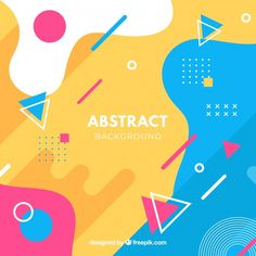 Abstract background with geometric design Free Vector Geometric Graphic, Geometric Designs, Geometric Background, Background Patterns, Vector Background, Abstract Shapes, Geometric Shapes, Brochure Design, Branding Design