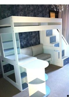 Youngsters Bedroom Furnishings – Bunk Beds for Kids Loft Beds For Teens, Bunk Beds For Girls Room, Bunk Bed With Desk, Loft Bunk Beds, Modern Bunk Beds, Bunk Bed With Trundle, Bunk Beds With Stairs, Kids Bunk Beds, Bunk Bed Designs