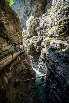 #Breitachklamm Kleinwalsertal - the famous canyon between #Kleinwalsertal and #Oberstdorf