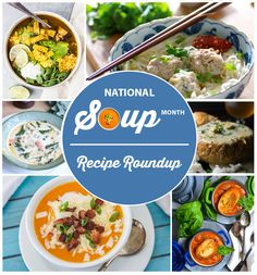 Enjoy this tasty roundup of 20 Recipes for National Soup Month filled with some of the most delicious homemade soups around.Plus a few surprise recipes too!