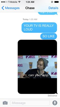 I TEXTED THIS TO MY BROTHER AND HE TURNED HIS TV OFF NEVER UNDERESTIMATE THE POWER OF LUKE HEMMINGS