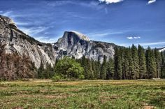 """half dome HDR 2011"" Photo by: Dusten Hay"