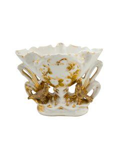 French Porcelaine de Paris and Partial Gilt Vase | The HighBoy | blog.thehighboy.com