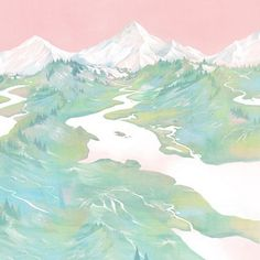 Dreamy mountains. author: Hsiao Ron Cheng