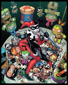 Batman TMNT Adventures #2 - Jon Sommariva