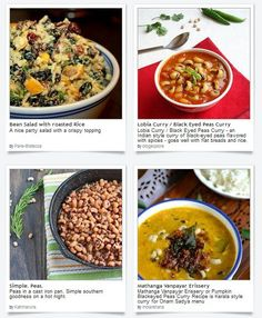 Make that delicious dinner of black-eyed peas with recipes for it this holiday, the Kwanzaa Feast. These recipes are soulfully prepared by our food bloggers here at Dishfolio!
