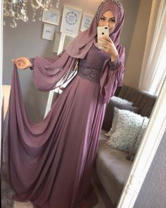 Likes, 18 Comments - ємяυℓℓαн ∞ є∂α (EmrullahEda Gökkaya). Hijab Evening Dress, Hijab Dress Party, Dress Prom, Dress Long, Hijabi Gowns, Indian Gowns Dresses, Abaya Fashion, Modest Fashion, Fashion Dresses