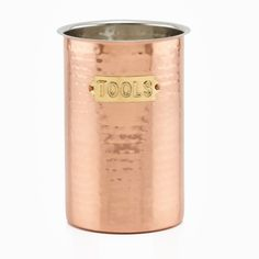 Hammered Decor Copper Tool Caddy $21 on overstock.com