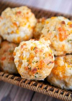 Homemade Cheddar Bay Biscuits    All we need is food