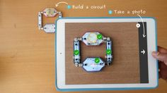 Build and learn about electronic circuits with LightUp Kits and the LightUp Learning app. Magnetically snap together circuit blocks to build cool projects without needing to use wires, breadboards, or soldering irons.