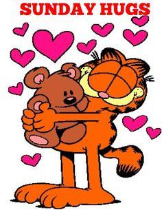 garfield - sunday hugs