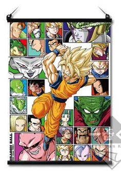Dragon Ball Z A2 Size Hanging type Poster 30th Anniversary JAPAN ANIME MANGA