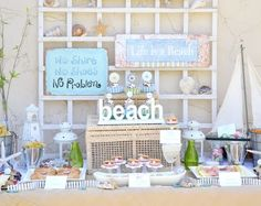 Coastal Decor, Beach, Nautical Decor, DIY Decorating, Crafts, Shopping | Completely Coastal Blog: Fun Beach Party Foods for Summer Good.