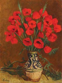 Poppies : Stefan Luchian : circa 1913 : Fine Art Giclee P Art Floral, Art Prints For Sale, Fine Art Prints, Pop Art, Art Brut, Impressionism Art, Oil Painting Reproductions, Affordable Art, Red Flowers