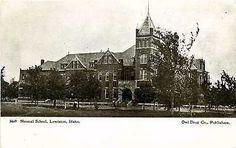 Lewiston Idaho ID 1907 Normal School Collectible Antique Vintage Postcard