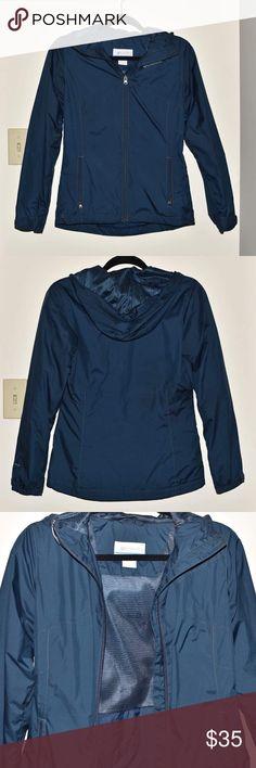 Columbia Navy Jacket Columbia navy jacket. In great condition. Columbia Jackets & Coats