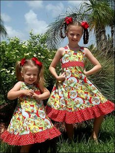 Grace Ruffle Dress by funktionalthreads Diy Dress, Ruffle Dress, Girls Dresses, Summer Dresses, Sweet Dress, Buttonholes, Along The Way, Skort, Diy Clothes