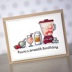 Lawn Fawn - So Smooth, Cross-Stitched Rectangle Stackables _ awesomely clever shaker card by Kristina Werner _   https://flic.kr/p/HmdYSv   How could a resist making the new @lawnfawn blender into a shaker? ;) New card and video on my YouTube channel and blog. #kwernerdesigncards   via Instagram ift.tt/1Renet7