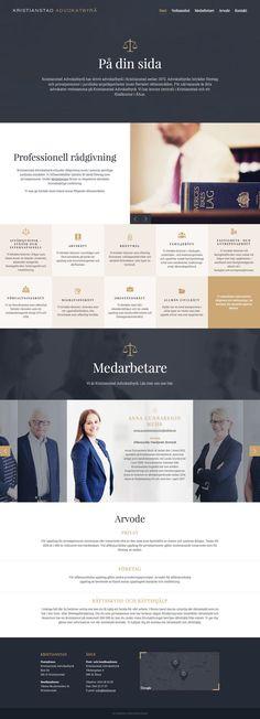 Kristianstad Attorneys Lawyer Website Design lawyerwebsites lawfirmwebsite… Chose WebsitesYES.com for your design needs.