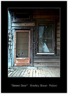 Slap of an old screen door like the one that was on my 1833 farm house in ny it meant it was summer & the kids were playing outside