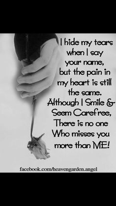 8 years this year and my heart still breaks ever time I think of the day I lost you. You were my soulmate and I miss you so much everyday. I Miss You Quotes, Missing You Quotes, Dad Quotes, Love Quotes For Her, Cute Love Quotes, True Quotes, Missing My Daughter Quotes, Dad Poems, Missing My Son