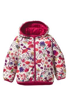 Patagonia 'Puff Ball' Reversible Jacket (Toddler Girls) available at #Nordstrom
