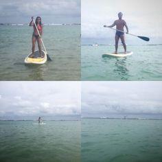 Stand up paddle na Barra de São Miguel. http://ift.tt/2l7x1dF