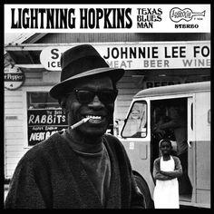 "jazzyfarmer: "" Lightnin' Hopkins Texas Blues Man Arhoolie Records, 1969 Photo by Chris Strachwitz """