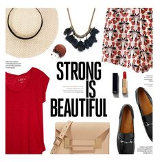Strong is Beautiful by federica-m on Polyvore featuring мода, LOFT, Gucci, Sophie Hulme, Isabel Marant, Chanel, gucci, isabelmarant,…